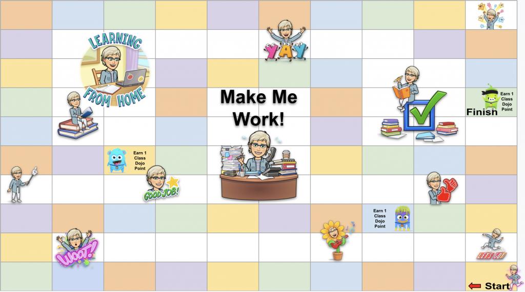 Make the Teacher Work Game