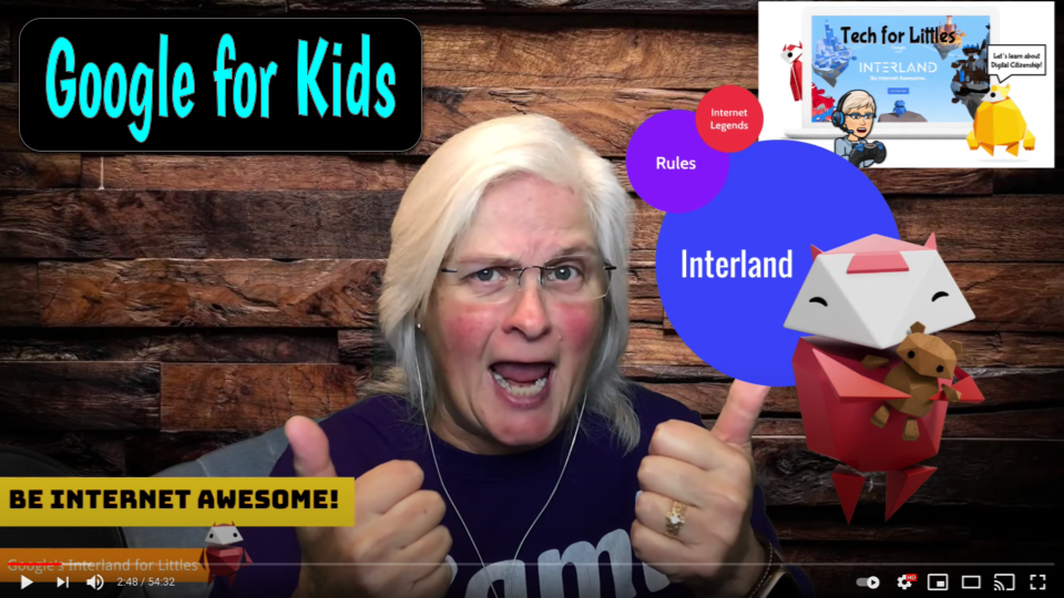 Google for Kids - Be Internet Awesome